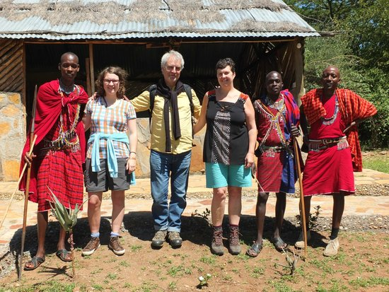 SEMADEP Camp : Good times with the Masai