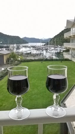 Picton Beachcomber Inn: The best view in town.