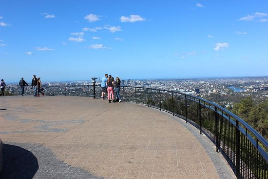 Mount Coot-tha Lookout: 2014年8月