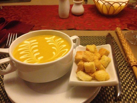 Essence Restaurant: Pumpkin soup