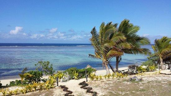 Namuka Bay Lagoon Resort: View from the villa