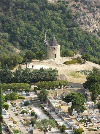 Château de Grimaud : le moulin