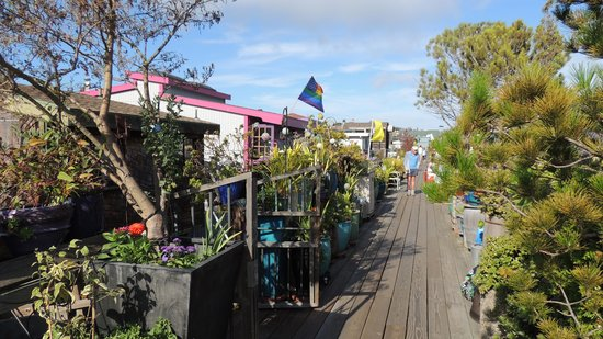 Sausalito Floating Homes Tour: Home tour