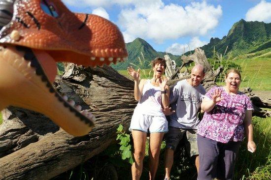 KOS Tours: Jurassic Park Location (Kualoa Ranch)