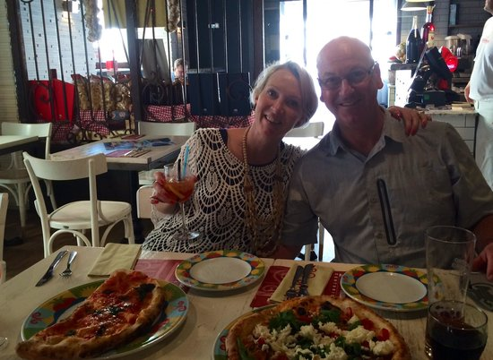 Rossopomodoro Roma Largo di Torre Argentina : Good pizza after a busy day!