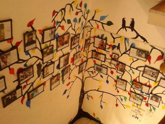 Stops Hostel Varanasi: Art work