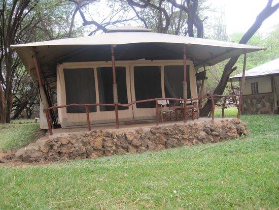 "Larsens Camp : ""Jacanas"", my room or tent."