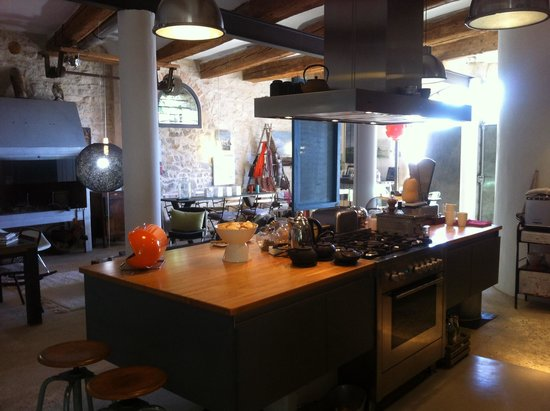 Guest House Felisa: Salon cuisine