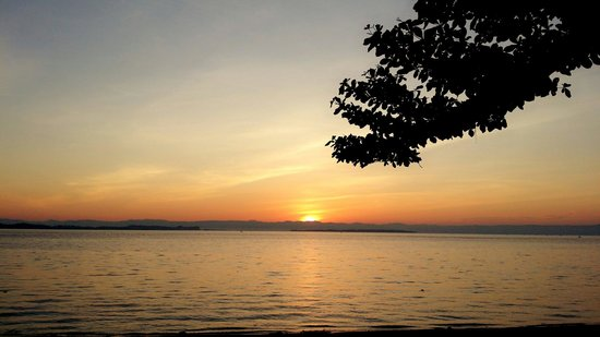 White Beach: Not a beach. You can't swim here but you can enjoy beautiful sunrise here before you start your