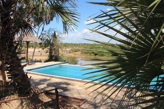 Selous Mbuyu Safari Camp: Pool