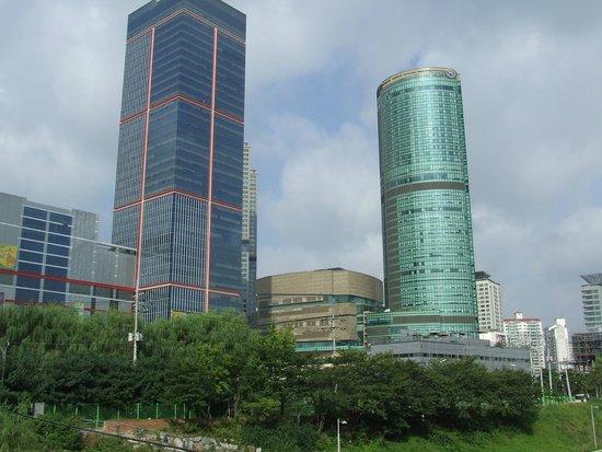 ibis styles Ambassador Seoul Gangnam: widok z okna