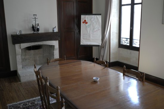 Chateau Julie : гостинная на 2-м этаже
