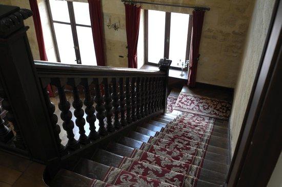 Chateau Julie : главная лестница