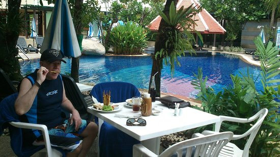 The Royal Paradise Hotel & Spa: Tough times by the pool!