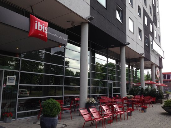 Ibis Amsterdam City West : facade