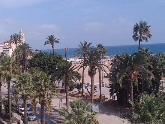 Hotel Platjador: Balcony view