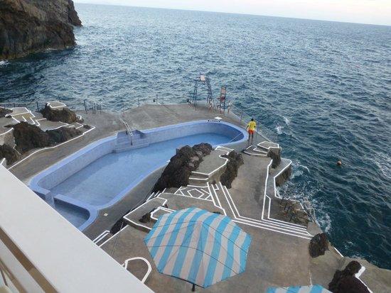 Hotel Cais da Oliveira: Sea Water Lido at Atlantis Restaurant