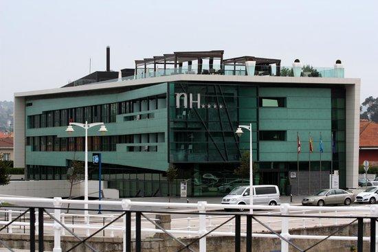 NH Gijon : Vista general del Hotel
