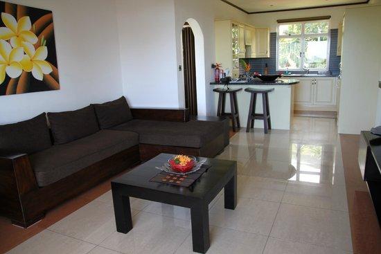 The Palm Seychelles : Salon cuisine