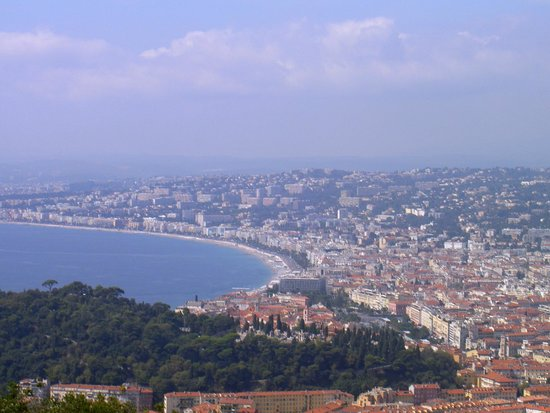 BEST WESTERN Hotel Riviera by HappyCulture: View overlooking Nice