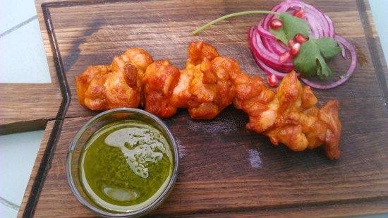 Khachapuri: Изумительно нежный куриный шашлык