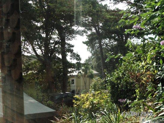 Cornerways Ventnor: lovely view