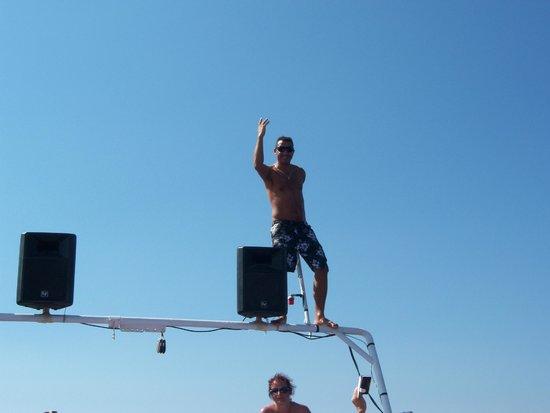 ozz dancing - Picture of Ozzlife Boat, Gumbet - TripAdvisor