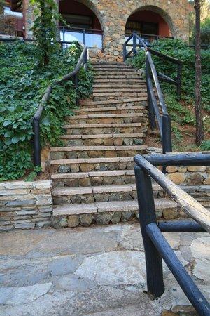 فندق تي تي هوتلز مارماريس إمبيريال: Stairs to room