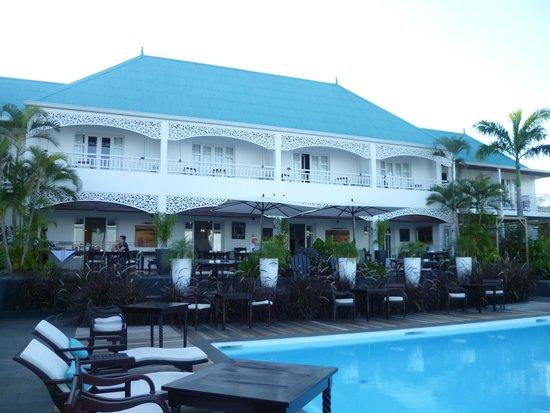 Blue Margouillat Seaview Hotel : piscine