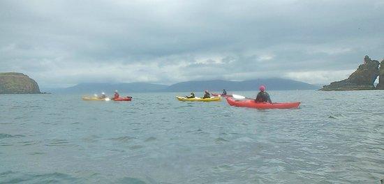 Irish Adventures: le groupe dans la baie