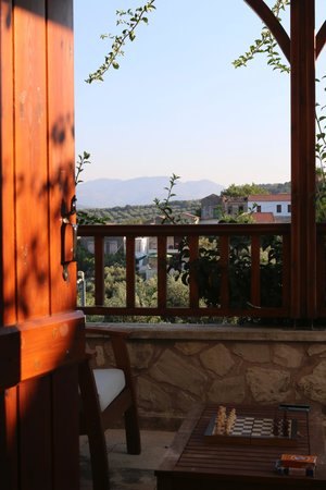 Spilia Village Hotel: view from bedroom