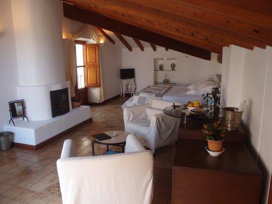 Boutique Hotel & Restaurant Ca's Xorc: Relaxing bedroom
