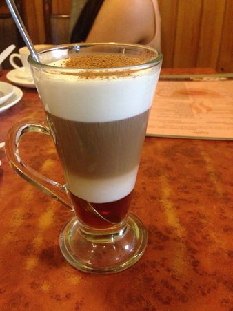 Snow Lion Restaurant: Honey latte