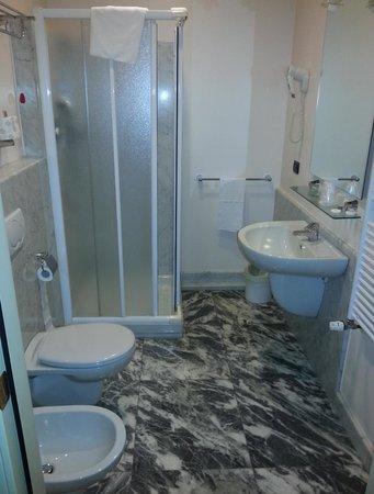 Hotel Residence Torino Centro: Il bagno