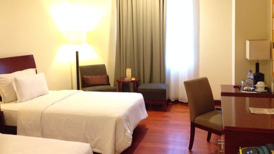 Manado Quality Hotel: Twin room - part 1