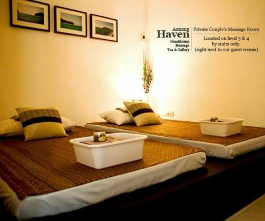 Aonang Haven Guesthouse.Massage.Tea & Gallery : Private Couple's Massage Room