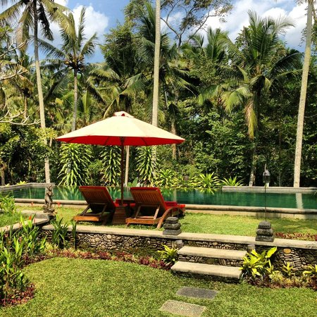 Suara Air Luxury Villa Ubud: Pool