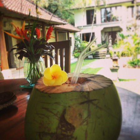 Suara Air Luxury Villa Ubud: Lunch Area