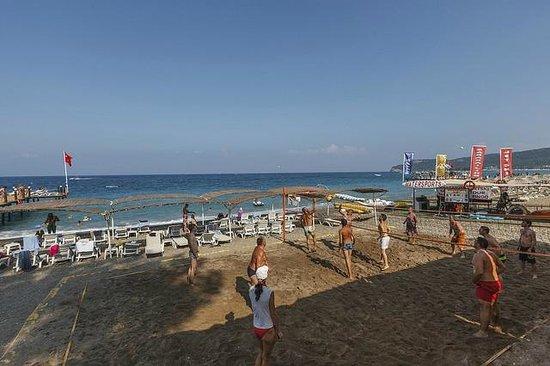 SENTIDO Palmet Resort : Volleyball Feld