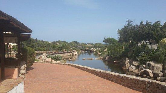 Bagaglino I Giardini di Porto Cervo: Laghetto zona mare