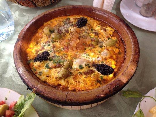 Maison d'Hote Panorama Todra Tinehir: Berber omelette