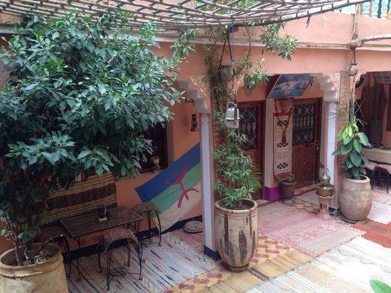 Maison d'Hote Panorama Todra Tinehir: Courtyard