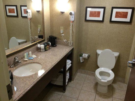 Bathroom picture of comfort suites south grand rapids for Bathroom suites direct