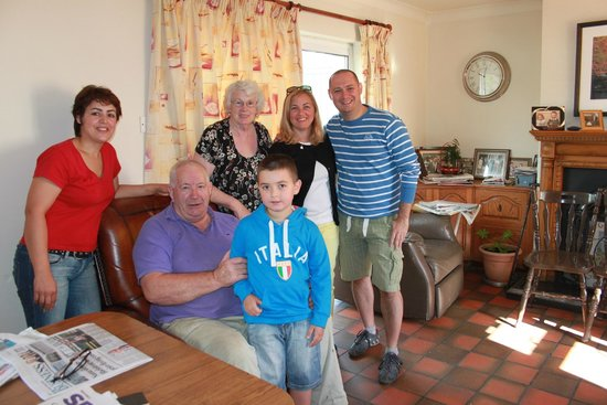 Ard Na Greine: With the family
