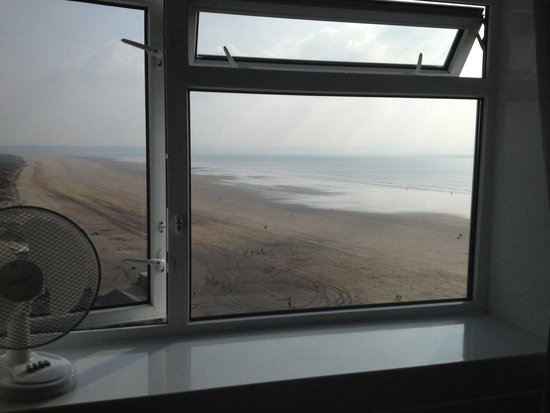 Saunton Sands Hotel: Sea view room
