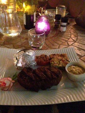 Restaurant Le Jardin: Viande simmentale ! Excellente !!