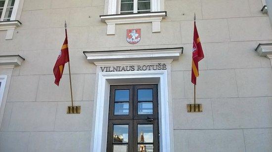 Town Hall (Rotuse): Entrance