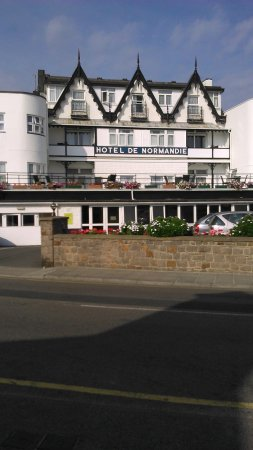 Hotel De Normandie : My own photo taken 16/9/14 :-)