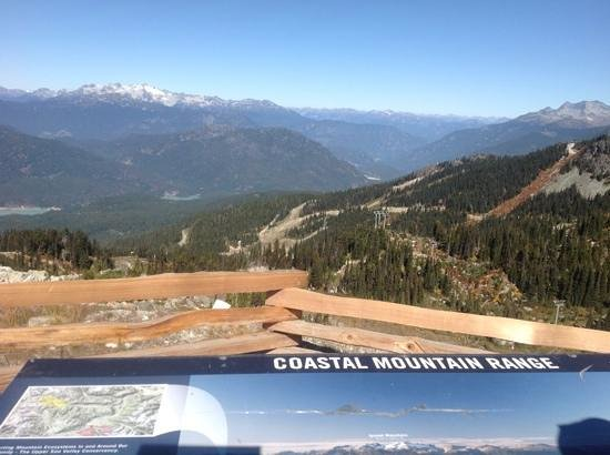 Tantalus Lodge: a trip on the combined Whistler and Peak to Peak gondolas affords superb views