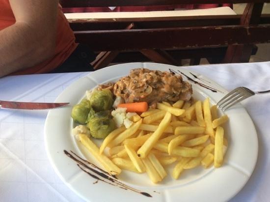 La Rosa : Steak mit Pilzen